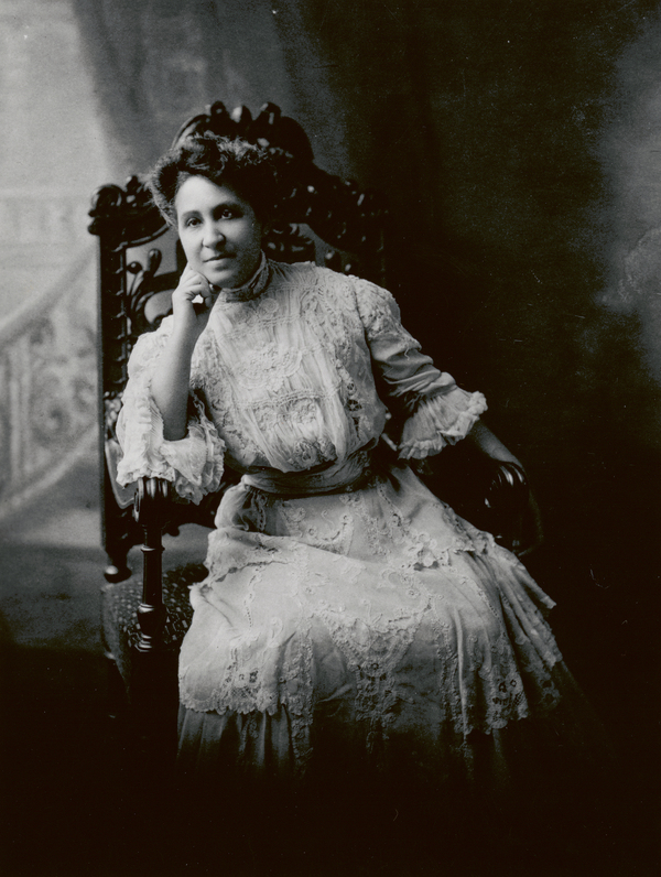 African American suffragist and activist Mary Church Terrell.