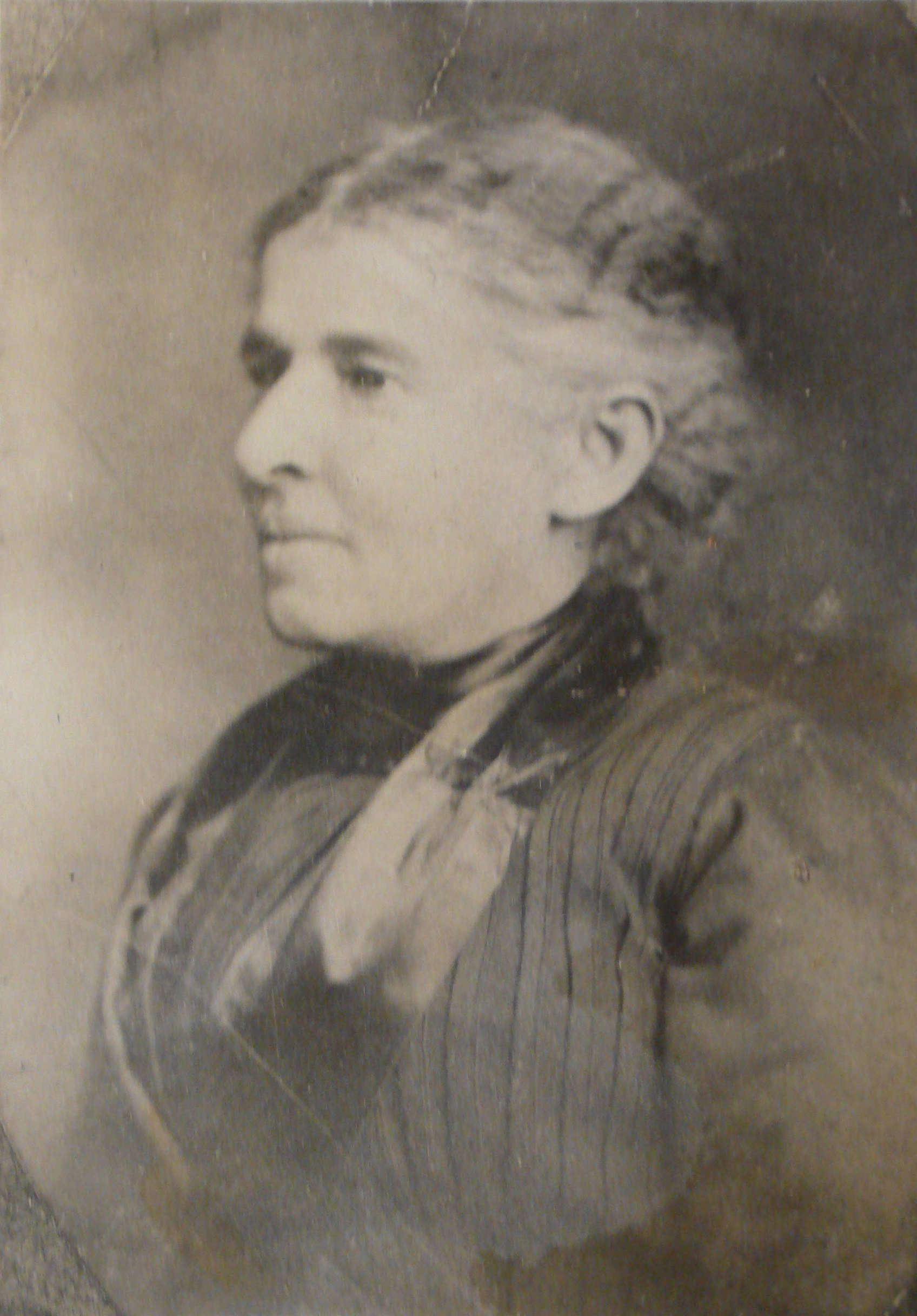 A portrait of Martha S. Jones' great-great-grandmother, Susan Davis, who was born enslaved in Kentucky. (Martha S. Jones)