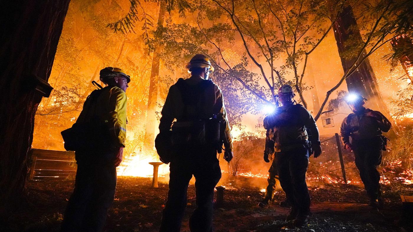 'Lightning Siege' Sparks Worst Fires In California's History – NPR