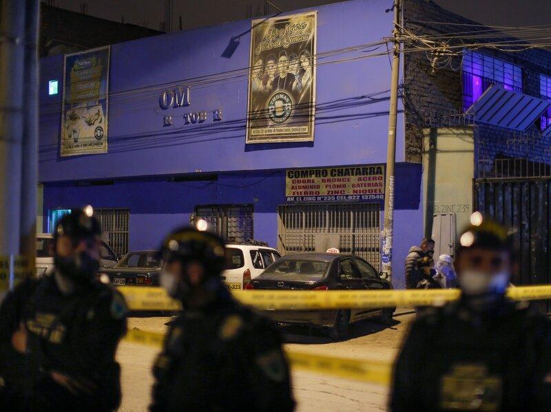 Peru nightclub stampede
