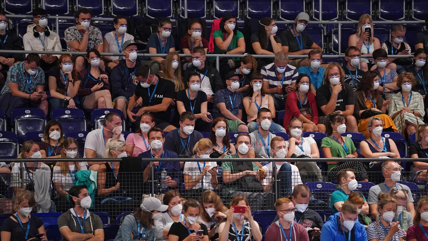 German Concert Experiment Tests How Big Gatherings Spread COVID-19 : Coronavirus Live Updates – NPR