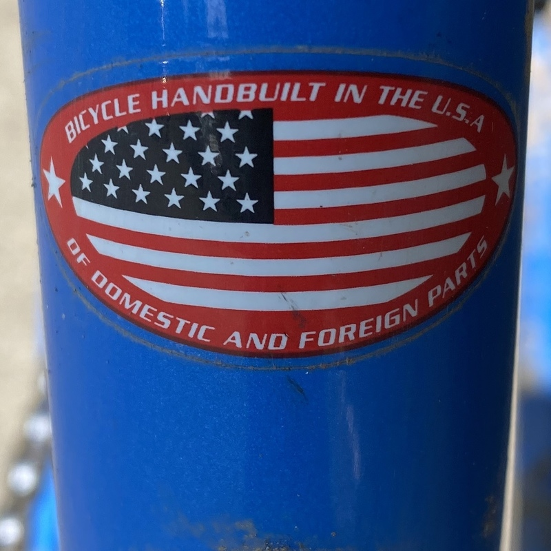 Another sticker on my Trek mountain bike from the 1990s.