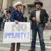 Unmasked Protesters Push Past Police Into Idaho Lawmakers' Session