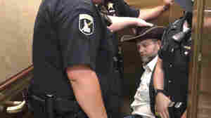 Ammon Bundy Is Arrested And Wheeled Out Of The Idaho Statehouse — Again