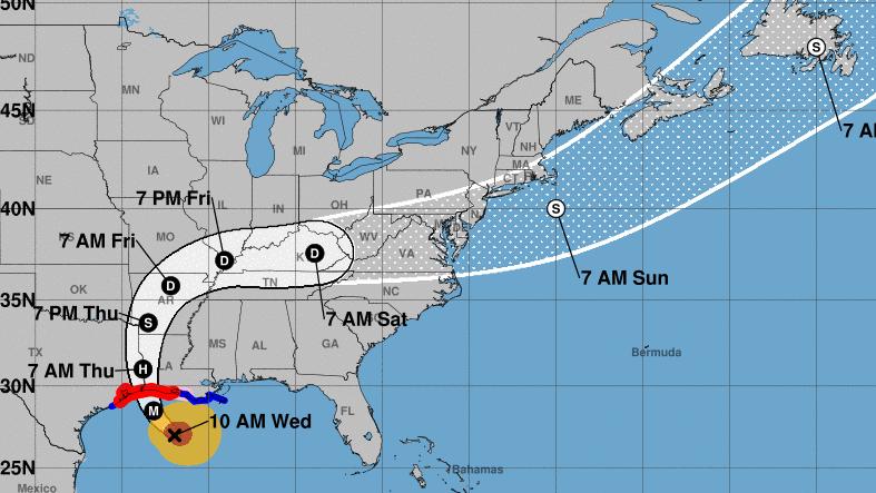 Hurricane Laura Forecast To Bring 'Unsurvivable' Storm Surge As Category 4 Storm – NPR