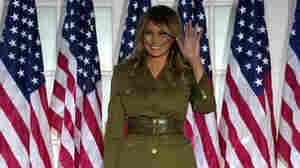 'People Are Anxious': Melania Trump Takes On Pandemic, Protests In RNC Speech