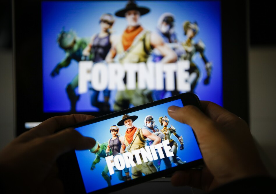Fortnite is releasing its new season, Chapter 2 - Season 4, on Thursday, but it will not be available on iPhones or other Apple devices because of a legal dispute between Epic Games, the maker of Fortnite, and Apple over in-app commissions. (Metin Aktas/Anadolu Agency/Getty Images)