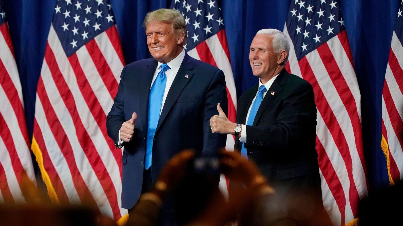 Trump's Loyal Wing Man Pence Gives RNC Speech On Wednesday – NPR