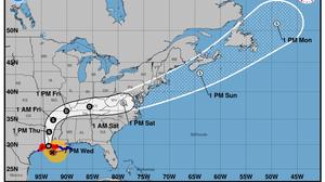 Hurricane Laura Comes Ashore Threatening 'Unsurvivable' Storm Surge