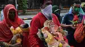 Hindus Work Around Coronavirus To Celebrate God Ganesh, Remover Of Obstacles