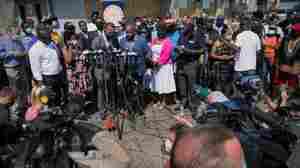 Rev. Jesse Jackson Addresses Jacob Blake Shooting In Kenosha, Wis.