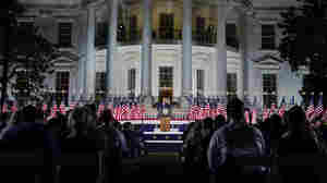 Adapting To A Pandemic, GOP Confab Sets Tone For Trump Reelection Campaign