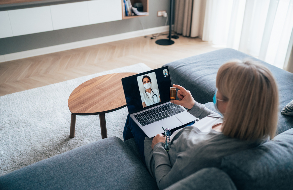 Virtual medical appointments are more common since the coronavirus pandemic began. But without physical exams, doctors may miss certain diagnoses and miss out on building relationships with patients. (filadendron/Getty Images)