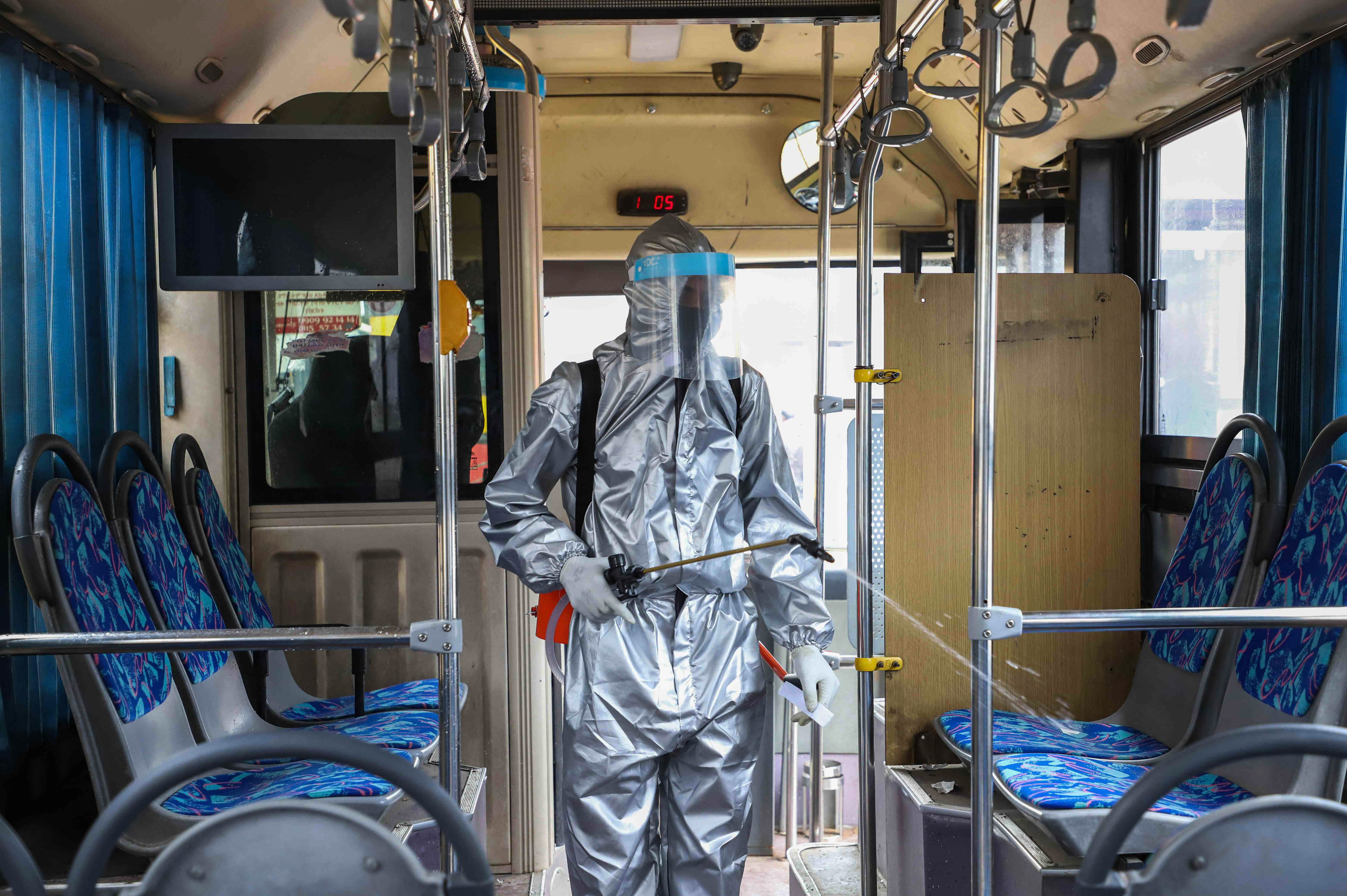 In A Pandemic Is It Safe To Ride A Bus Or Subway Goats And Soda Npr