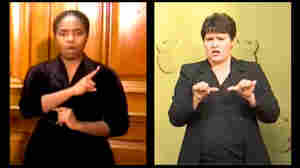 How 2 Sign Language Interpreters Became Unlikely Pandemic Stars