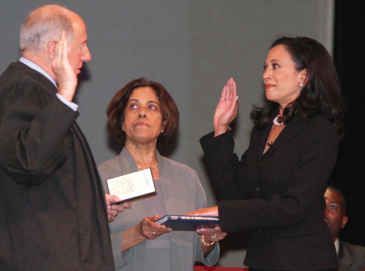Kamala Harris' Record As Law Enforcer To Lawmaker : NPR