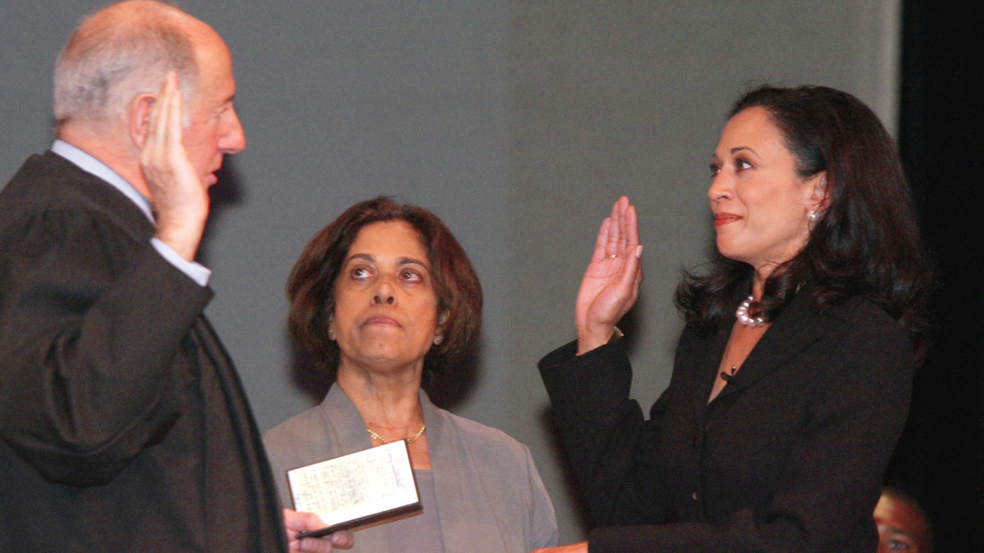 Kamala Harris Record As Law Enforcer To Lawmaker Npr