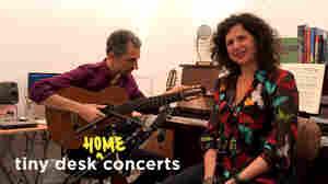 Anat Cohen And Marcello Gonçalves: Tiny Desk (Home) Concert