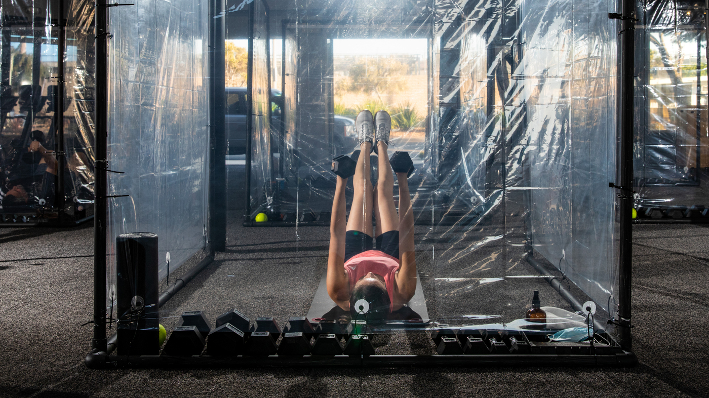 Gyms Are Open Again With Restrictions.Perceptions : Shots – Health News – NPR