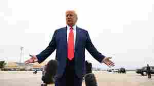 Trump Praises Law Enforcement In Visit To Kenosha