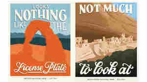 'Subpar Parks' Artist Turns Bad National Park Reviews Into Great Works Of Art