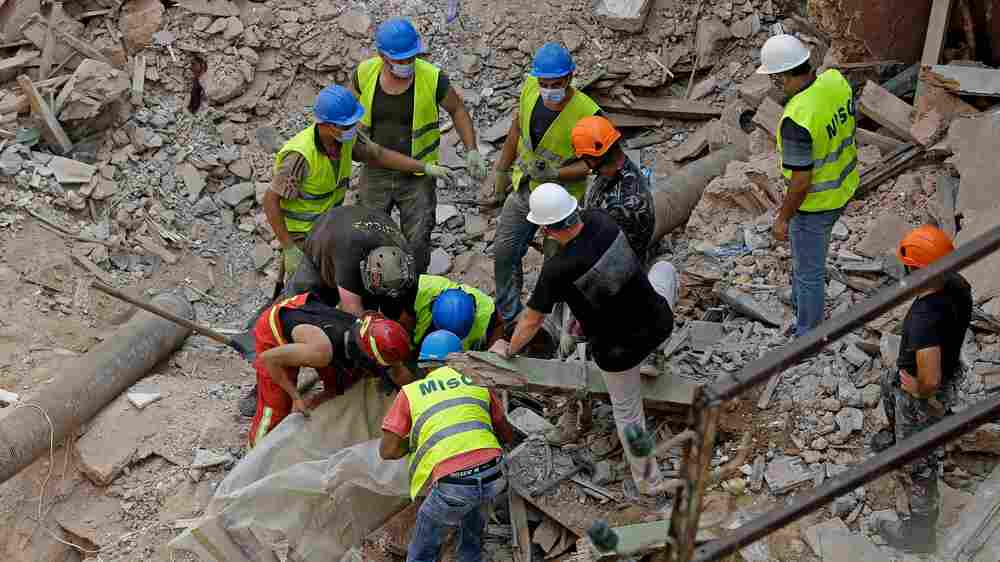 Rescue Workers Hope To Find Survivor Of Beirut Blast 1 Month Later