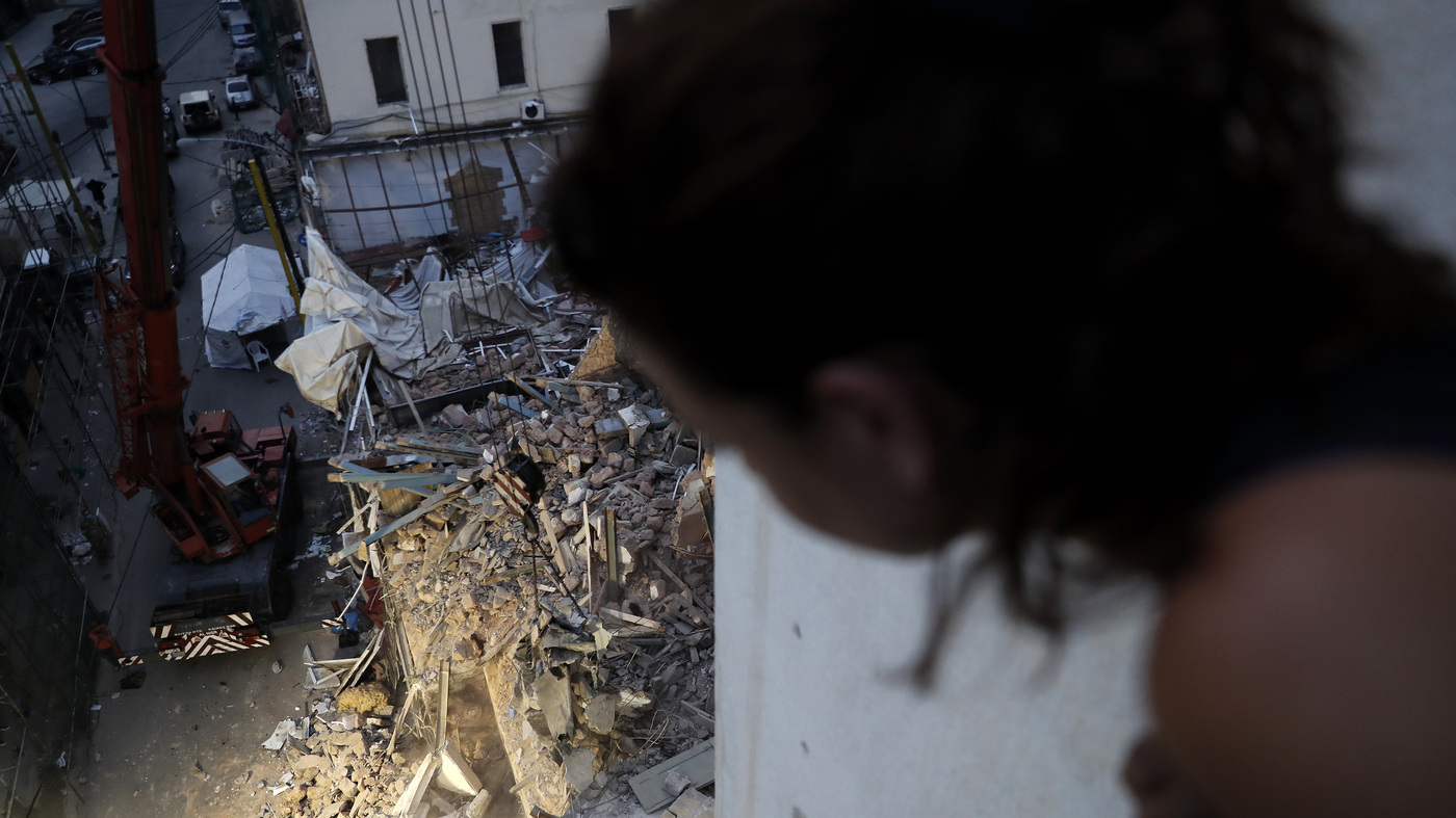 'There's No Sign Of Life.' Rescue Team In Beirut Ends Search For Possible Survivor – NPR