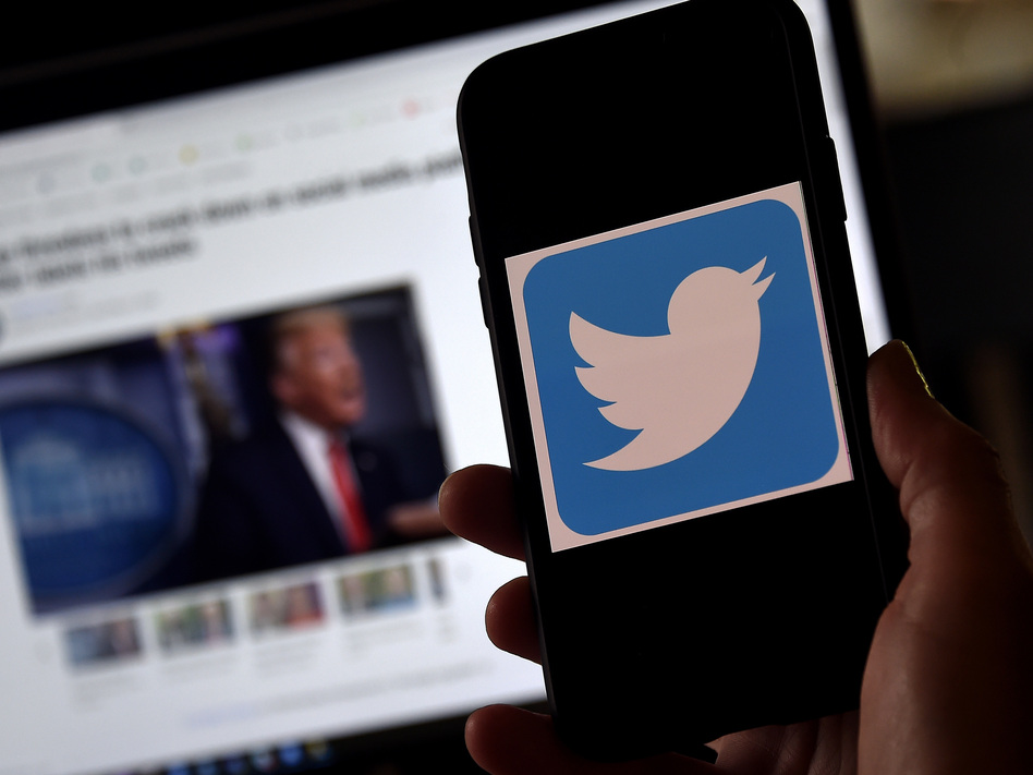 Twitter says it will crack down on attempts to undermine faith in the November election or incite unrest. (Olivier Douliery/AFP via Getty Images)