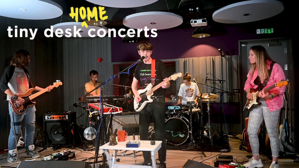 Declan McKenna plays a Tiny Desk (home) concert.