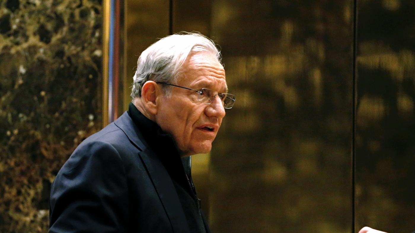 Woodward Addresses Criticism That He Should've Detailed Trump Interviews Earlier – NPR