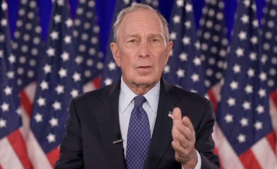 Mike Bloomberg, seen here giving an address during last month's virtual Democratic National Convention, has pledged a big sum to help Joe Biden win Florida. (DNCC via Getty Images)