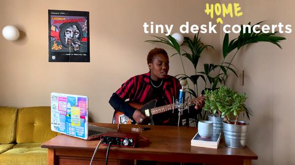 Arlo Parks plays a Tiny Desk (home) concert.