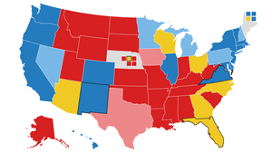 2020 Electoral Map Ratings: Landscape Tightens Some, But Biden Is Still Ahead