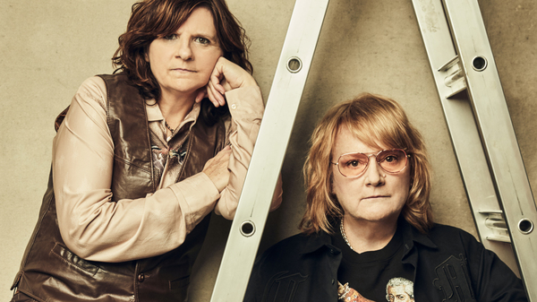 Amy Ray (left) and Emily Saliers are the veteran folk-rock duo Indigo Girls. Their new track for Morning Edition