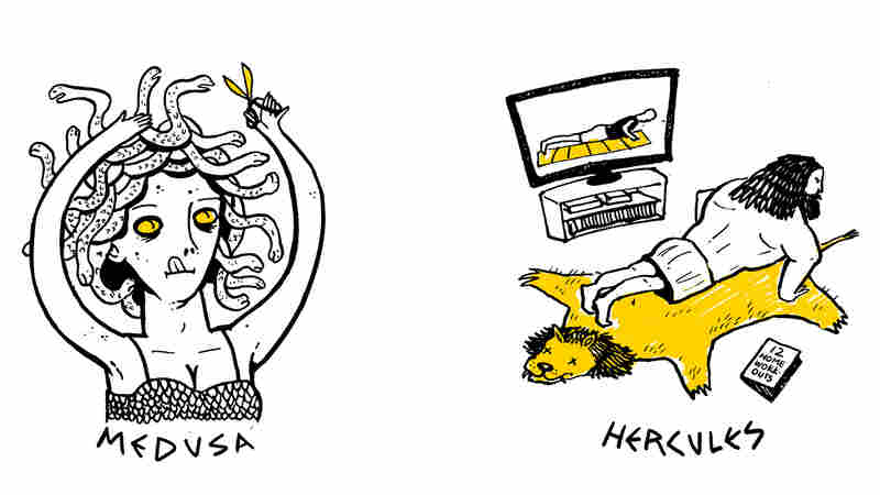 Drawing On Greek Myths As Inspiration For Illustrating Life During The Pandemic