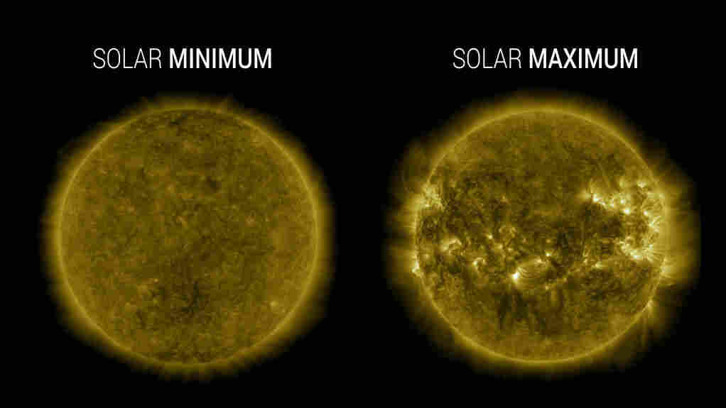 The sun has entered its 25th solar cycle