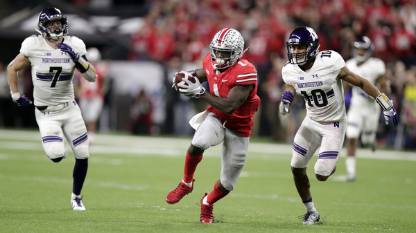 The Big Ten will return to football in Oct. 2020. The conference represents programs such as Ohio State and Northwestern, shown here during a 2018 game.