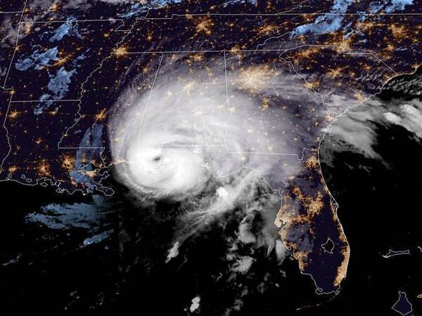 Hurricane Sally made landfall near Gulf Shores, Ala., just west of the Florida border, around 5:45 a.m. ET Wednesday.