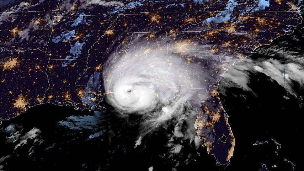 Hurricane Sally Makes Landfall As A Category 2 Near Alabama-Florida Line thumbnail