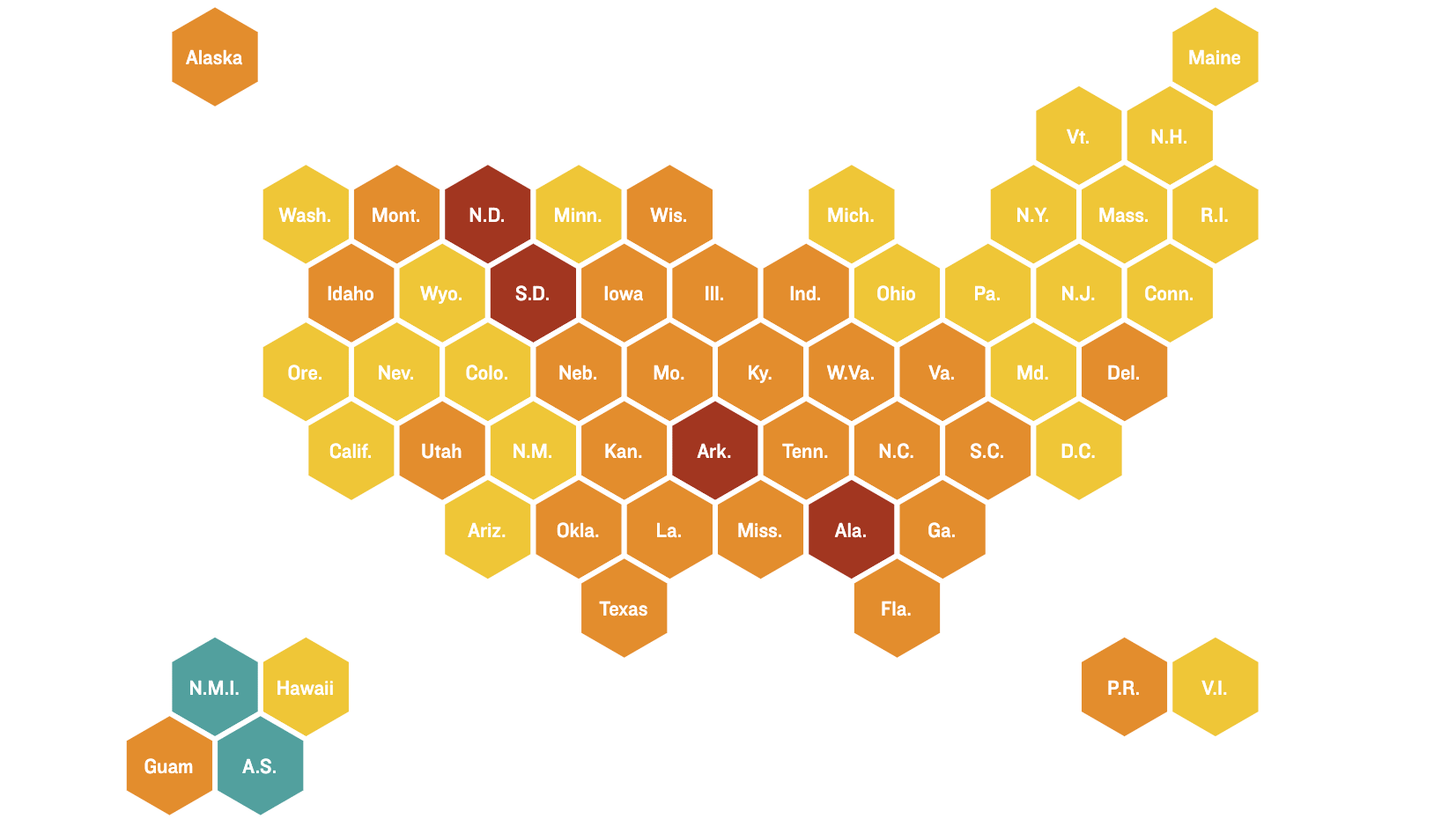 Coronavirus Maps: How Severe Is Your State's Outbreak?