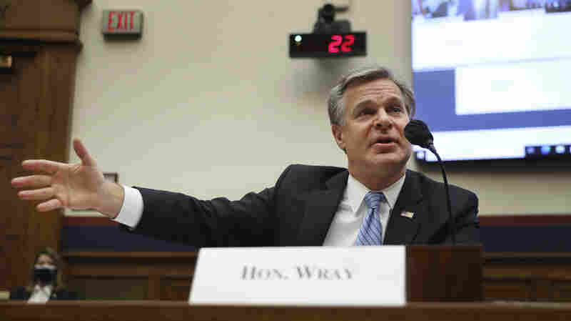 Biggest Worry On Election Security Is Americans' Loss Of Confidence, Wray Says