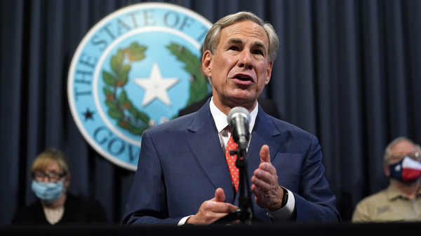Texas Gov. Greg Abbott announced on Thursday that certain sectors in most of the state can expand their occupancy limits starting Monday. He also said hospitals in those regions can now resume elective procedures, and eligible long-term care facilities can resume limited visitation next week.