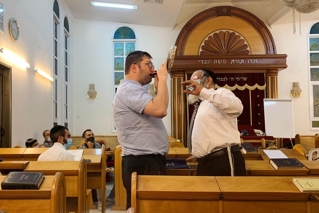 Mais sopradores de shofar para o ano novo judaico com distanciamento social: atualizações ao vivo do Coronavirus: NPR 2