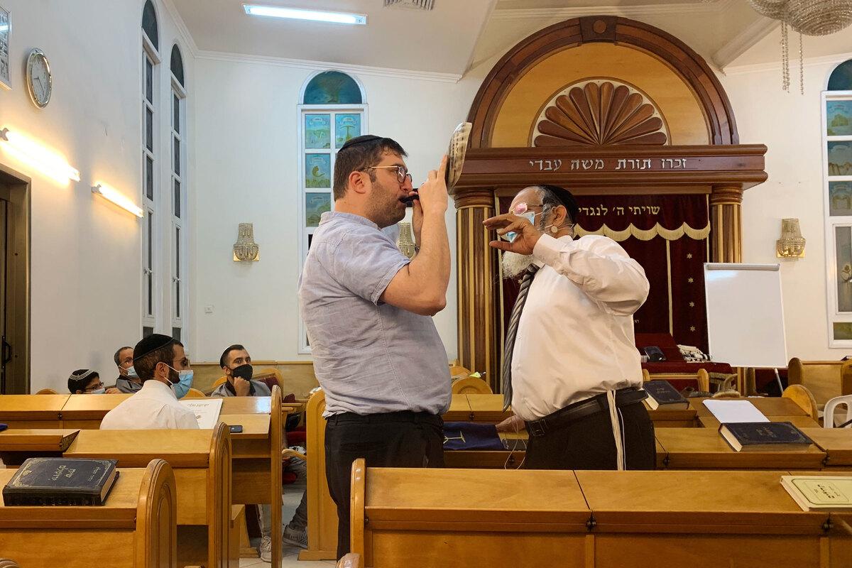 Mais sopradores de shofar para o ano novo judaico com distanciamento social: atualizações ao vivo do Coronavirus: NPR 3