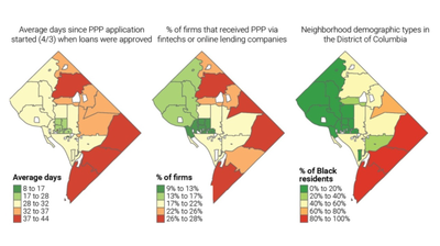 D.C. Businesses In Majority Black Neighborhoods Waited Longer For Federal Pandemic Aid