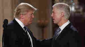Trump's Supreme Court Pick Shrouded In Secrecy