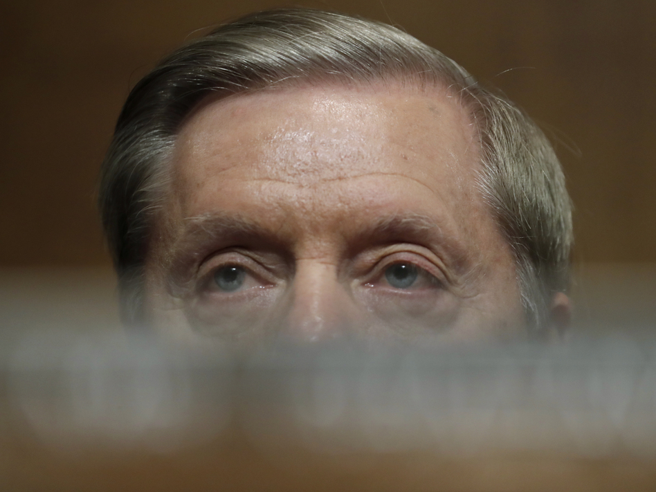 Sen. Lindsey Graham has walked back repeated statements that a Supreme Court should not be filled in a presidential election year. (Jim Bourg/AP)