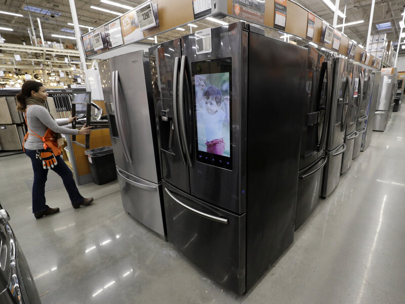 Appliance Shortage: Why It's So Hard To Buy A New Refrigerator These Days :  NPR
