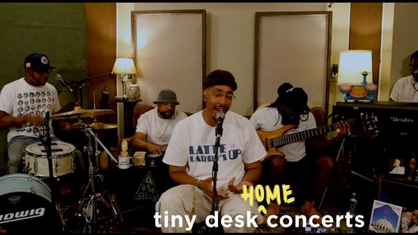 Oddisee: Tiny Desk (Home) Concert