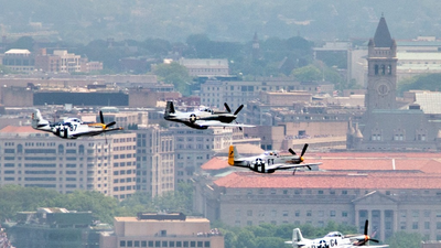 Dozens Of World War II Planes Are Scheduled To Fly Over D.C. Friday